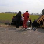 ДТП с пострадавшими под Одессой: столкнулись Renault и Toyota