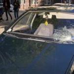 В Киеве Uber на пешеходном переходе сбил мужчину