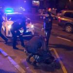 В Киеве пьяная компания пыталась ограбить авто, попавшее в ДТП