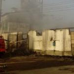 Под Харьковом горят склады с зерном, огонь не могут потушить с ночи