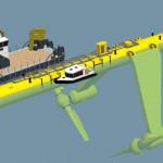 Гигантская приливная турбина SR2000 поставила новый рекорд возобновляемой энергетики