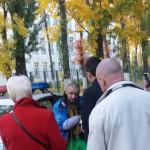 В Киеве мужчина с молотком гонялся за детьми