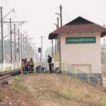 В Киеве поезд насмерть сбил пьяного