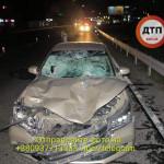 В Киеве пьяные пешеходы погибли, попав под колеса Honda
