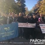 Жители Полог протестовали против закрытия железнодорожной больницы