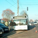 В Борисполе попал в ДТП автобус аэропорта