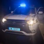 В центре Киева автомобиль полицейских сбил грабителя
