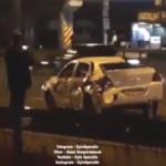 В Киеве пьяный водитель въехал в такси