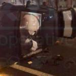 В Киеве пьяные таксисты устроили два ДТП