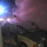 В Бердянске минувшей ночью прогремел мощный взрыв