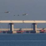 Российские корабли перекрыли проход через Керченский пролив в Азовское море