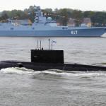 Балтфлот России разгромили без войны