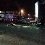 Смертельное ДТП в Тернополе: автомобиль повалил столб