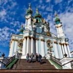 В Киеве Андреевскую церковь забросали «коктейлями Молотова»