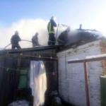 На Киевщине горел жилой дом