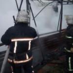 Масштабный пожар на Киевщине: загорелся ресторанный комплекс