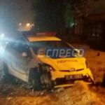 В Киеве полицейские устроили опасное ДТП