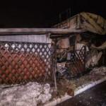В Киеве горело складское помещение ресторана