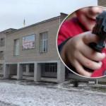 На Волыни школьник принес в школу пистолет