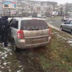 В Киеве пьяный на Opel устроил «гонки»