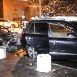 В Киеве сгорели два авто: подозревают поджог
