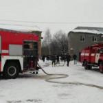 В Харькове горел склад со швейной фурнитурой
