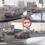 ДТП в Киеве: у авто оторвало заднюю часть кузова