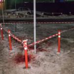 В Киеве вор с ножом напал на полицейского