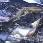 В Ирпене подожгли автомобиль депутата