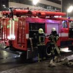 В Киеве возле метро горели МАФы