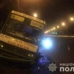 В Харькове полицейский помог остановить автобус с водителем, потерявшим сознание