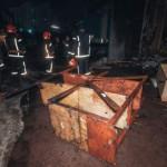 В Киеве горели склады с удобрениями