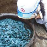В Японии найден клад с множеством старинных монет