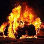 В Сумах в гараже взорвался автомобиль: водитель сильно пострадал