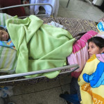 Недоедающие дети, как болезненное лицо кризиса в Венесуэле