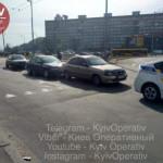 В Киеве произошло пьяное ДТП