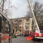 На Подоле загорелась квартира