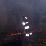 Под Киевом в свинарнике произошел масштабный пожар