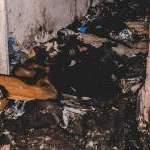 В Киеве произошел пожар с тремя пострадавшими