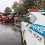 В Киеве произошло ДТП с участием маршрутки