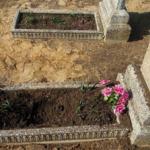 На Донбассе женщина подорвалась на кладбище