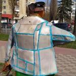 В Киеве вандалы осквернили известную скульптуру