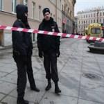 Мощность взрывного устройства, сработавшего в Петербурге составила до 500 граммов