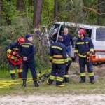 Смертельное ДТП под Киевом: погибшего водителя вырезали спасатели