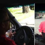 В Запорожье водитель маршрутки взял пассажиров в заложники