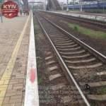 В Киеве поезд насмерть сбил парня