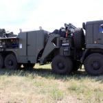 На полигоне Прудбой ЮВО впервые продемонстрировали новейший военный тягач