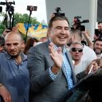Михаил Саакашвили готов защищать Украину с оружием в руках