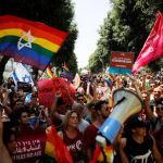 «Парад гордости» в Иерусалиме: перекрытые улицы, задержания, поджог флага