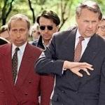 Вся команда Путина вышла из красного пиджака Собчака
